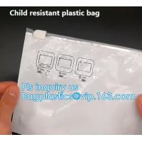 Buy cheap Zipper Aluminum Mylar Foil Bags, Child Proof Packaging Pouches For Baby Proofing from wholesalers