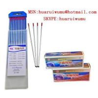 Buy cheap Tungsten electrode for TIG welding from wholesalers