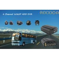 Buy cheap HDD Mobile DVR Basic Model 4 Ch 4 / 3G Slim Card Security for Buses Coach Tractors Taxi product