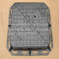 Buy cheap Heavy Duty Sand Cast Ductile Iron Double Triangular Manhole Cover & Frame Drawing From China from wholesalers