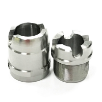 Buy cheap Polished Surface CNC Turning Precision Titanium Components from wholesalers