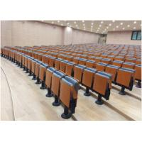 Buy cheap Fabric Padded Retractable Bleacher Seating Primy Upholstery For Entertainment Center from wholesalers