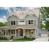 Buy cheap Environmentally   Light Steel Villa , Luxury Family Modern Steel Structure Homes from wholesalers