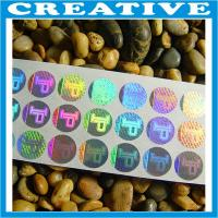 Buy cheap 3D anti-fake hologram stcker/label product
