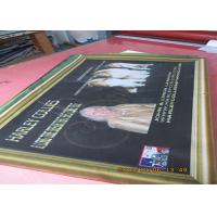 Buy cheap Digital Four Colormesh Vinyl Banner , Double Sided Mesh Banner With Copper Grommet from wholesalers