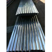 Buy cheap 16 Gauge Corrugated Galvanized Steel Sheet 3 - 5 Tons Corrugated Tin Roofing Sheet from wholesalers