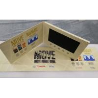 Buy cheap Paper craft Custom design 7inch screen video promotion brochure video card brochure display for automotive advertising from wholesalers
