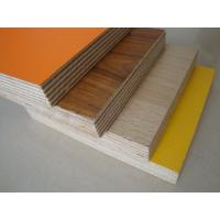 Buy cheap hot sale melamine plywood/ Furniture grade 18mm plywood with melamine finish/ Green color eucalyptus core PVC coated from wholesalers