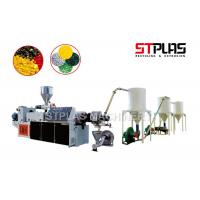 Buy cheap PVC Waste Plastic Recycling Pellet Machine , PVC Hot Cutting Pelletizing Line from wholesalers