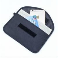 Buy cheap RFID Shielding Pouch Wallet case RFID Signal Blocking Bag Mobile phone signal shielding bag from wholesalers