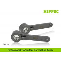 Buy cheap GH19 G Type CNC C Wrench Tool , 2 Inch Spanner Hook Wrench With Pin from wholesalers