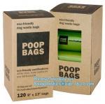 Buy cheap Eco friendly Custom Doggy Poop Bag dispenser for Dog Waste, biodegradalbe dog poop bag with dispenser eco friendly dog from wholesalers