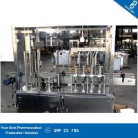Buy cheap Bottle Mouth Localizer Liquid Filling Machine , Filling And Capping Machine from wholesalers