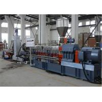 Buy cheap PP / PE / PET Double Screw Plastic Granules Machine for Plastic Recycling from wholesalers