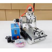 Buy cheap Heighten Version 3020 Water cooling + 4 Axis CNC3020 Desktop 3D CNC Milling Machine from wholesalers