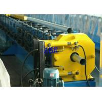Buy cheap 17 Rows Galvanized Board Square Pipe Roll Forming Machine Hydraulic Motor Drive product