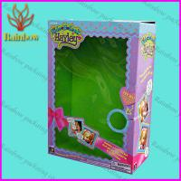 Buy cheap Pretty Design Paper Box Packaging For Gift With PVC Window from wholesalers