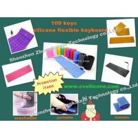 Buy cheap 109 Keys Standard Silicone flexible Keyboard from wholesalers