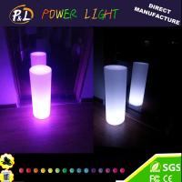 Buy cheap Plastic home decorative lamp led cylinder lamp from wholesalers