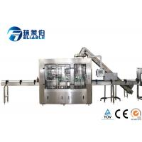 Buy cheap Reliable Automated Glass Bottling Equipment , Bottle Filling Machine Small from wholesalers