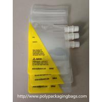 Buy cheap Clear plastic Stand Up Water container pouch with spout W13 x  L27cm from wholesalers