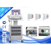Buy cheap Vertical 8mm 13mm Smas Ultrasound HIFU Machine , Face Lift High Intensity Beauty Clinic Machine from wholesalers
