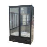 Buy cheap Supermarket Vertical Freezer -18~-22°Frozen Food Glass Door Display Refrigerator from wholesalers