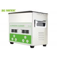 Buy cheap Digital control stainless steel ultrasonic cleaner 3L with heating for Jewellery Dental Glasses from wholesalers