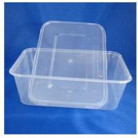 Buy cheap Injection Rectangular Disposable Plastic Food Containers , PP Food Trays from wholesalers