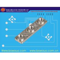 Buy cheap Glossed Push Button Membrane Switch Conductive Rubber Keypad Embossed from wholesalers