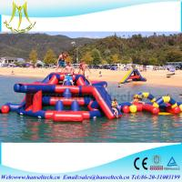 Buy cheap Hansel best quality inflatable pool bar for adult amesement equipmrnt from wholesalers