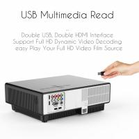 Buy cheap simplebeamer W330 Android multimedia LCD projector,2800 lumens real home theater Projector with wireless exceed  3D proj from wholesalers