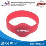 Buy cheap OEM logo rfid silicone wristband em4100/t5577/em4305 from wholesalers