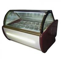 Buy cheap Fan Cooling Ice Cream Freezer Case -16~-22℃ With Digital Temp Controller and 2000mm Length from wholesalers