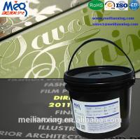 Buy cheap 3D Effect UV Silk Screen Ink , Fabric Screen Printing Ink MSDS/ISO9001 Certificated from wholesalers