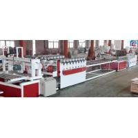 Buy cheap PVC WPC Board Production Line Construction Template Formwork Building Kitchen Board Making from wholesalers