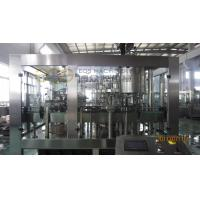 Buy cheap Carbonated Water Filling Machine / 275ml Glass Bottle Soft Drink Filling Machine from wholesalers