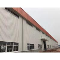 Buy cheap Prefabricated Structure Metal Frame Buildings / Durable Pre Fab Workshop product