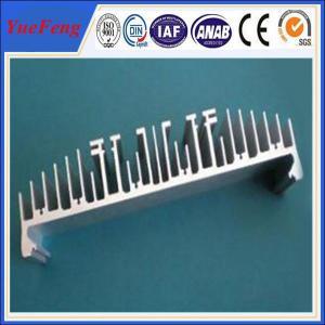 China Custom extruded heatsinks radiator/ aluminium heat sink for led,6063 aluminum radiators on sale