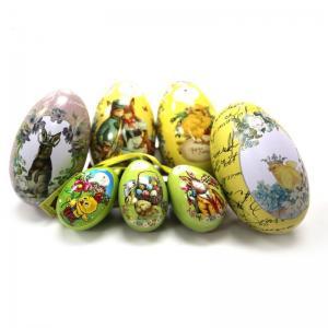 Buy cheap Wholesale Unique Easter Egg Tin Box product