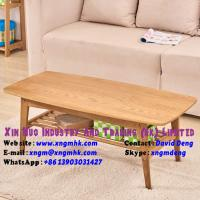 Buy cheap Solid wood coffee table simple oak small coffee table Living Room Furniture from wholesalers