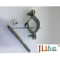 Sandblasting Surface Finishing Hydraulic Pipe Clamp For Heating Pipeline