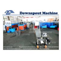 Buy cheap PPGI Sheet Portable Dowspout  Rollformer Machine With Hand Operated Shear from wholesalers