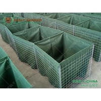 Buy cheap Military Sand Barrier Wall, 0.61X0.61X3.05m MIL5, Olive Green Geotextile Cloth, China Manufacturer from wholesalers