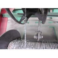 Buy cheap High Speed Barbed Wire Manufacturing Machine , High Accuracy Barbed Wire Fencing Machine from wholesalers