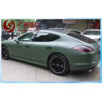 Buy cheap Army Green Matte Vinyl Wrap Pvc Waterproof For Car Body Stickers With Air Free Bubbles from wholesalers