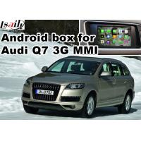 Buy cheap Android car navigation box for Audi Q7 multimedia video interface from wholesalers