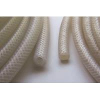 Buy cheap Extruded Braid Reinforced Silicone Rubber Tubing , High Pressure Silicone Braided Hose For Food Machine from wholesalers