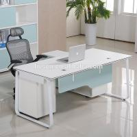 Buy cheap Korea style modern computer furniture home office chipboard computer desk from wholesalers