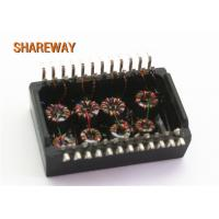 Buy cheap Surface Mount Type Ethernet Lan Transformer G2401CG/G2405CG Single Port Durable product